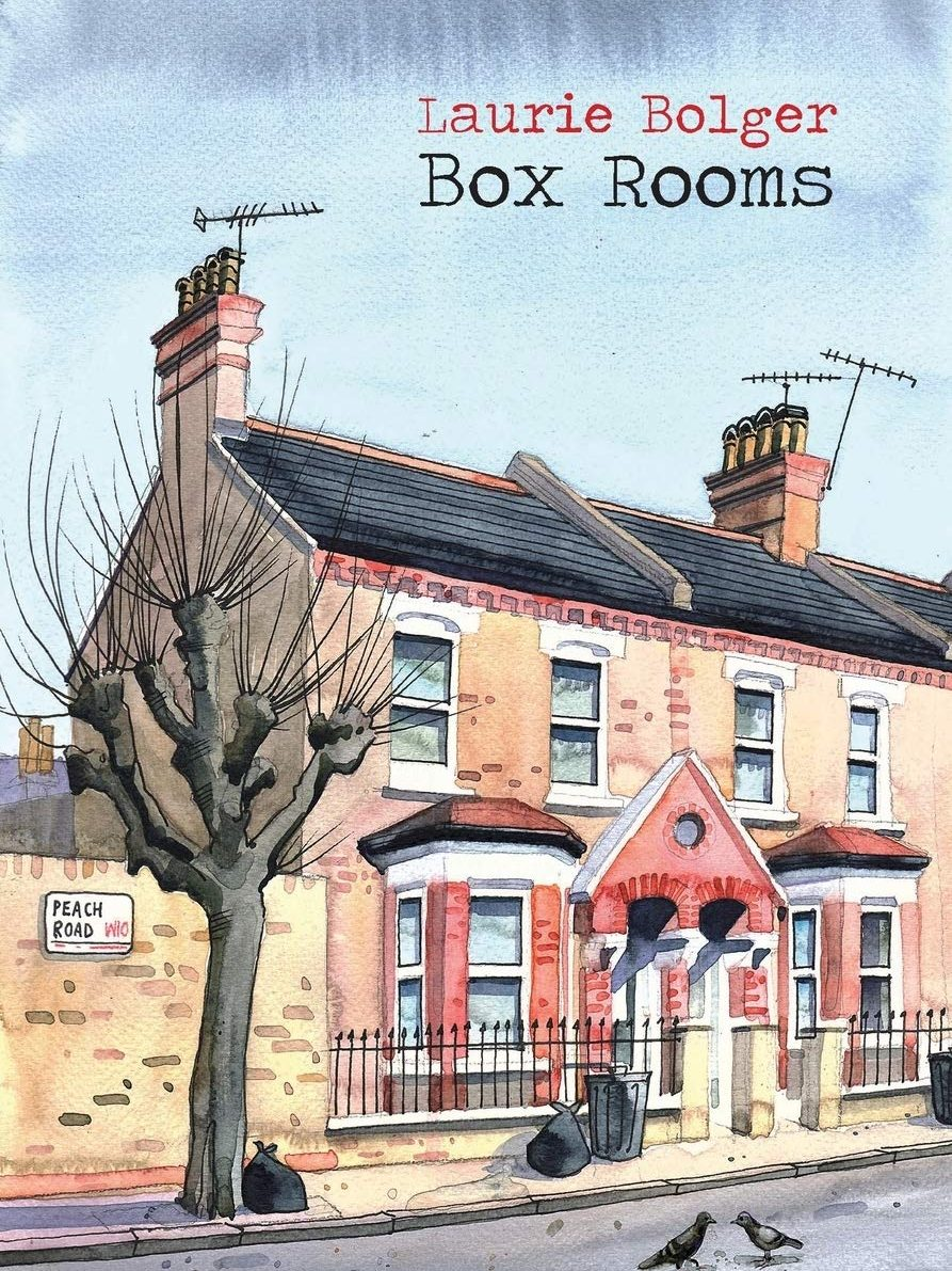 Box Rooms illustrated cover of terraced houses